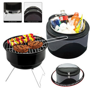 OVERSEAS, portable two-in-one grill