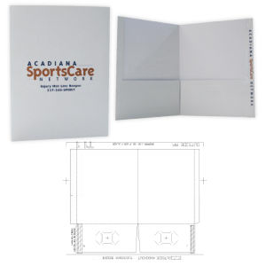 Promo Ad Specialty Folders