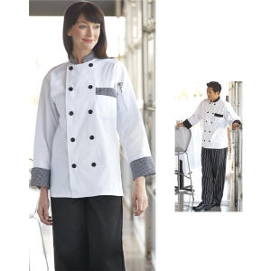 Custom Trim Chef Coat