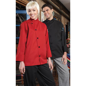 Smooth Front Chef Coat