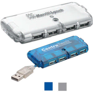 Four port, USB hub,