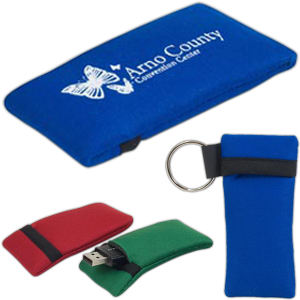 Promotional Vinyl ID Pouch/Holders-USB1