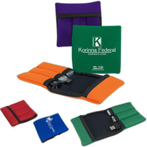 Promotional Vinyl ID Pouch/Holders-USB3