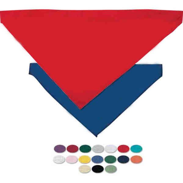 Blank, large pet bandana