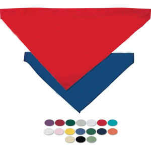 Blank, large pet bandana