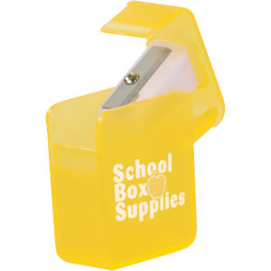 Square pencil sharpener with