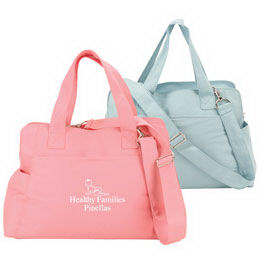 Polyester diaper bag with