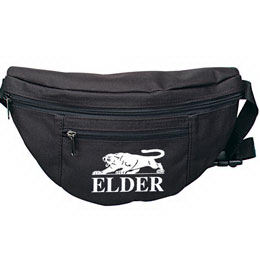 Two zipper fanny pack