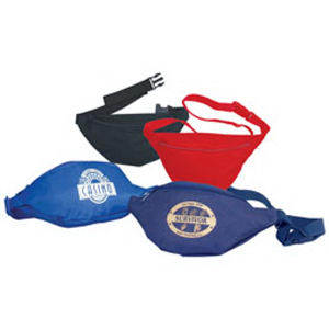 One zipper fanny pack