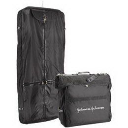 Garment bag made of