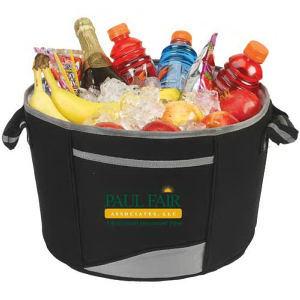 Tub cooler basket made