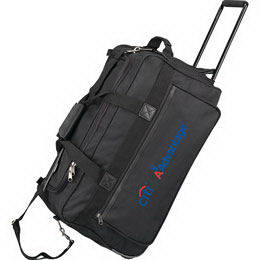 Rolling travel bag with