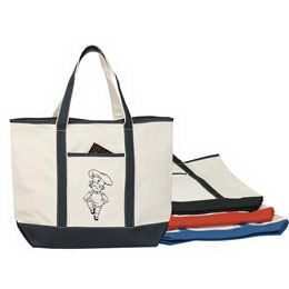 Heavy cotton canvas tote