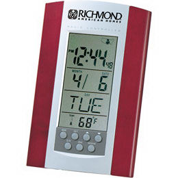 Radio controlled clock with