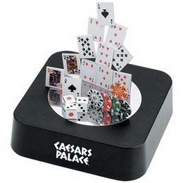 Magnetic poker sculpture block.