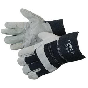 Split cowhide work gloves