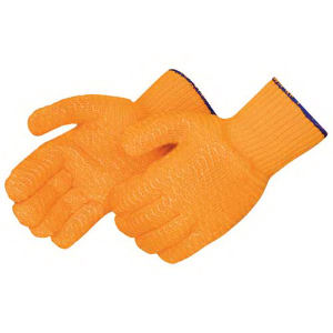 Blank, orange knit glove