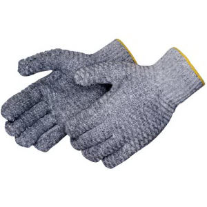 Blank, gray knit glove.