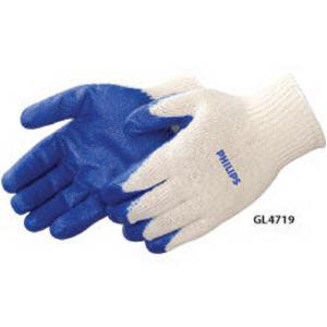 Blue latex palm coated
