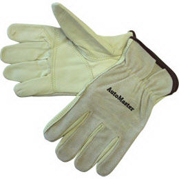 Driver gloves with brown