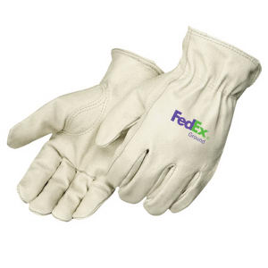 Driver gloves in grain