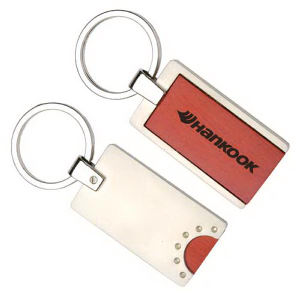 Promotional Wooden Key Tags-