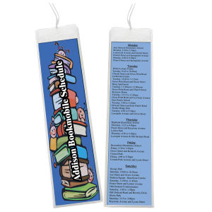 Promotional Bookmarks-5418