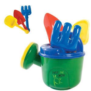 Toy gardening kit.