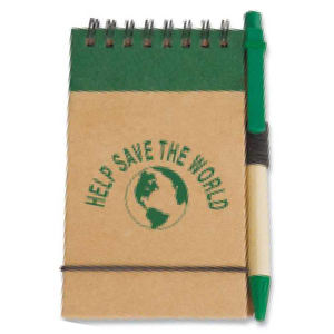 Eco pocket jotter with