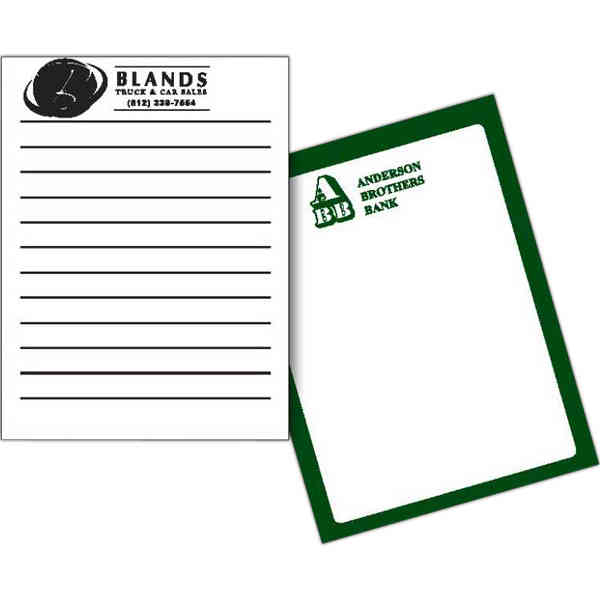 50 sheet scratch pad