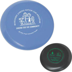 Imprinted Recylced Promotional Flying Discs