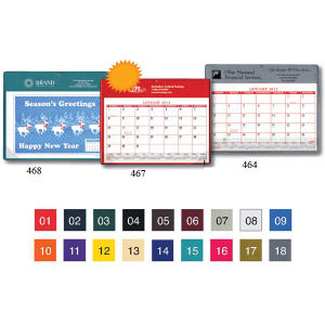 Promotional Desk Calendars-467StockColors