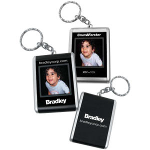Portable digital photo keychain,