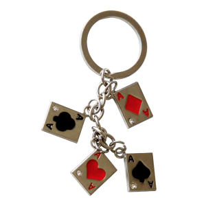 Key chain with four