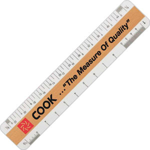 Architectural ruler for the