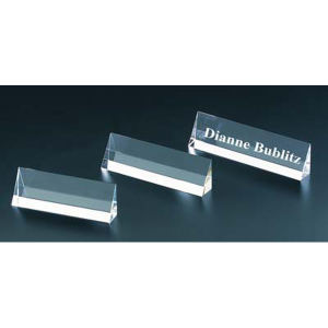 Name Plate optical crystal