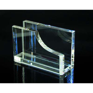 Promotional Business Card Stands-CRYSTAL-C421