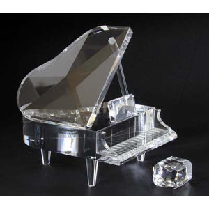Piano set optical crystal