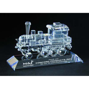 Engine optical crystal award