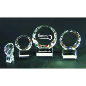 Sphere optical crystal award/trophy.