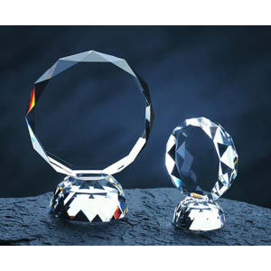 Promotional Crystal & Glassware-TROPHY-C307