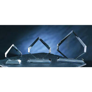 Promotional Crystal & Glassware-TROPHY-C393