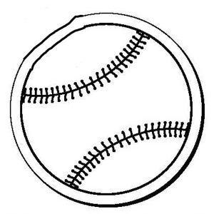 Promotional Magnetic Memo Holders-Baseball2