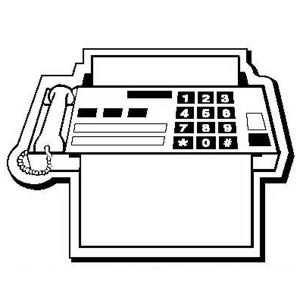 Promotional Magnetic Memo Holders-FaxMachine1