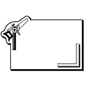 Promotional Magnetic Memo Holders-RectHammer1