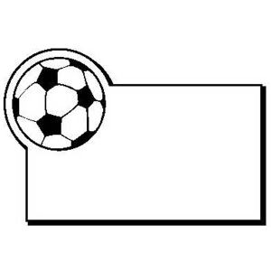 Promotional Magnetic Memo Holders-SoccerBall2