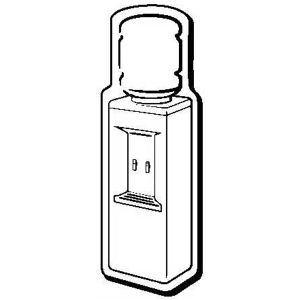 Promotional Magnetic Memo Holders-WaterCooler1