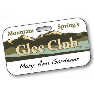 Promotional Name Badges-21216C