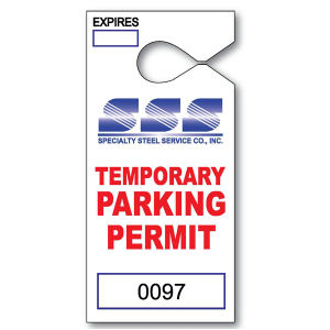 Promotional Parking Permits-T13052