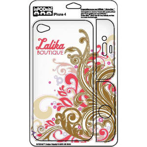 Repositionable skin for iPhone4.